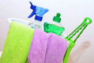 Regular cleaning keeps your home germ free